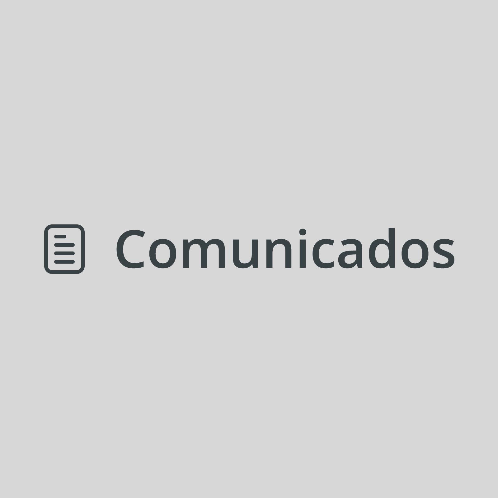 Comunicado de Dirección