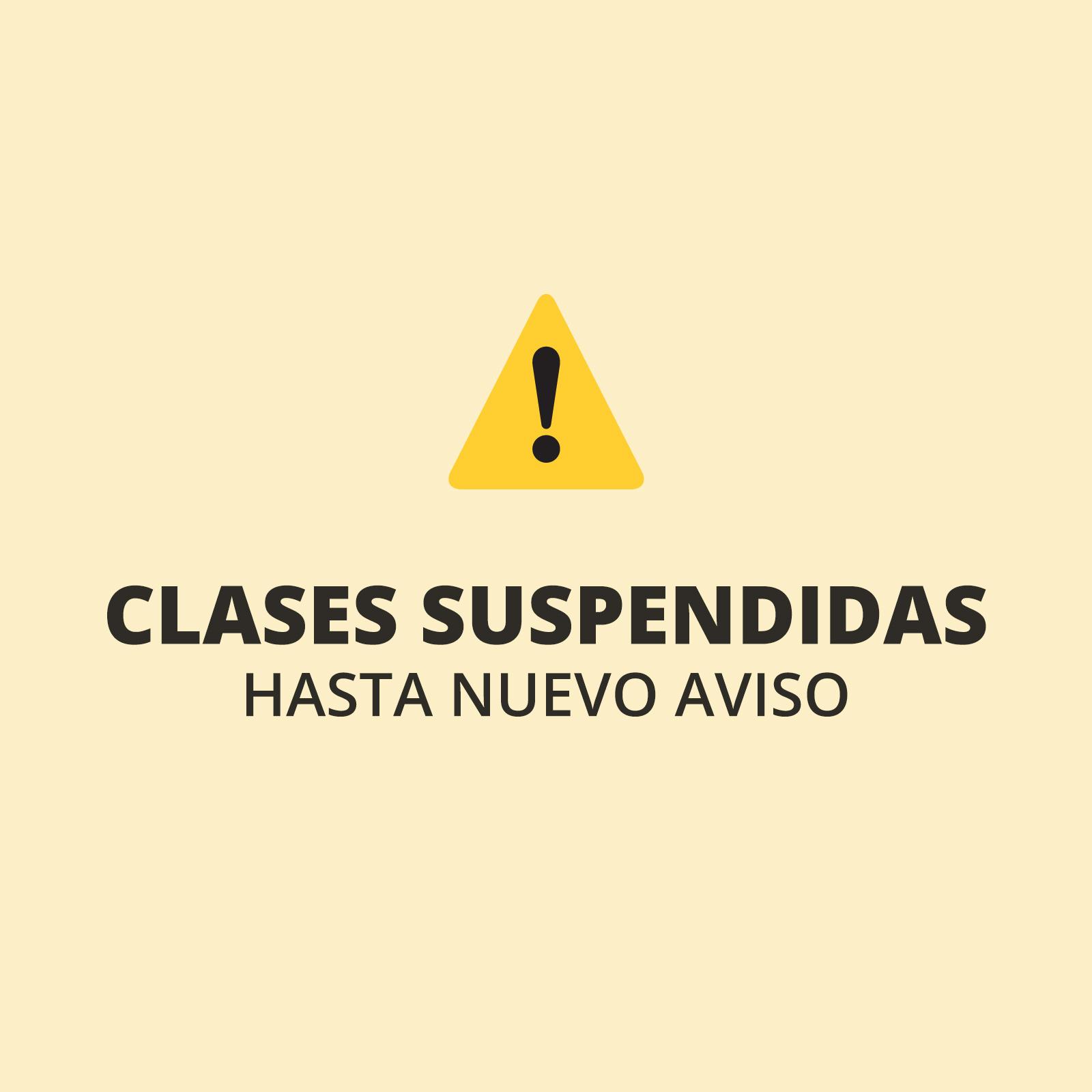 ⚠️ Se posterga el inicio de clases presenciales hasta nuevo aviso
