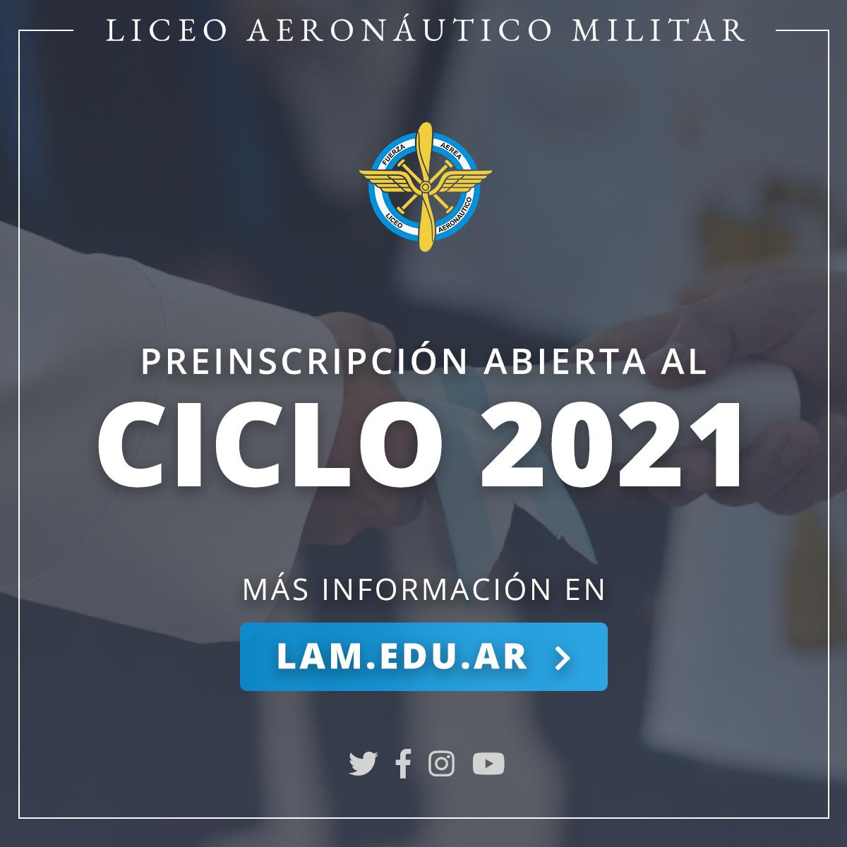 Incorporación 2021
