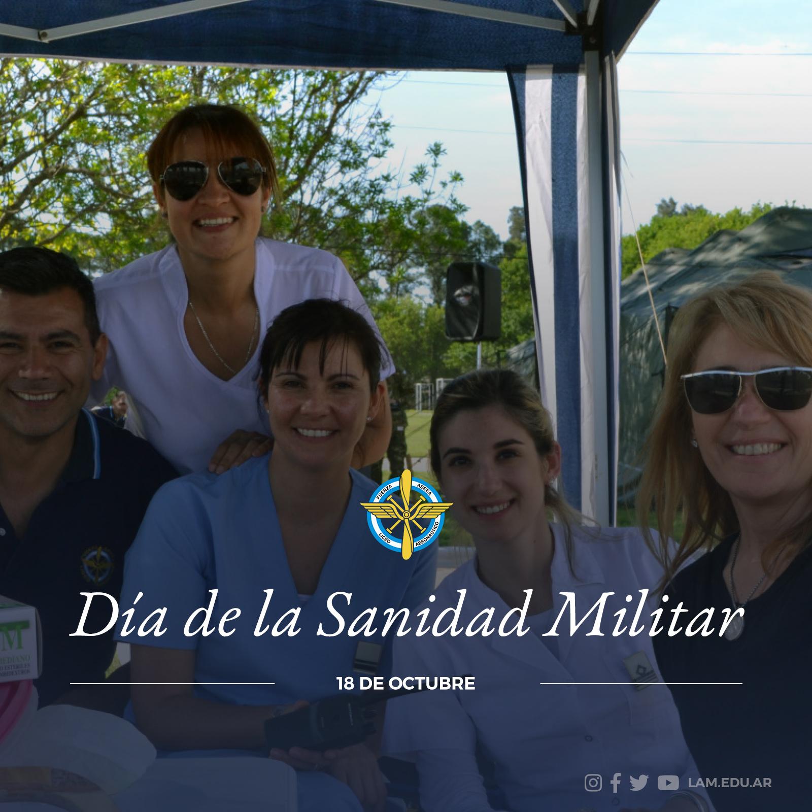 """18 DE OCTUBRE """"Día de la Sanidad Militar"""""""