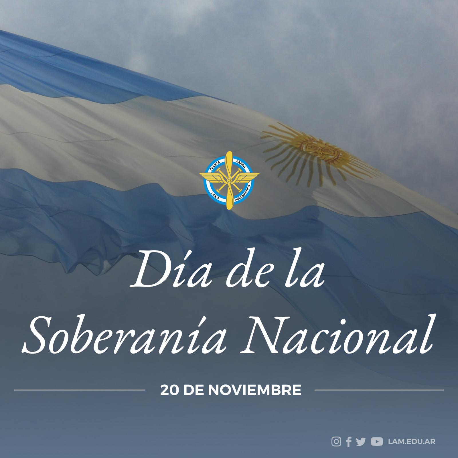 """20 DE NOVIEMBRE """"Día de la Soberanía Nacional"""""""