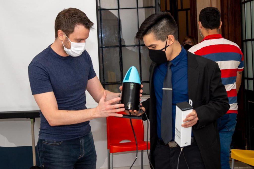 """""""HigiSol"""", el Proyecto Innovador de un Cadete del LAM para Enfrentar el Coronavirus"""