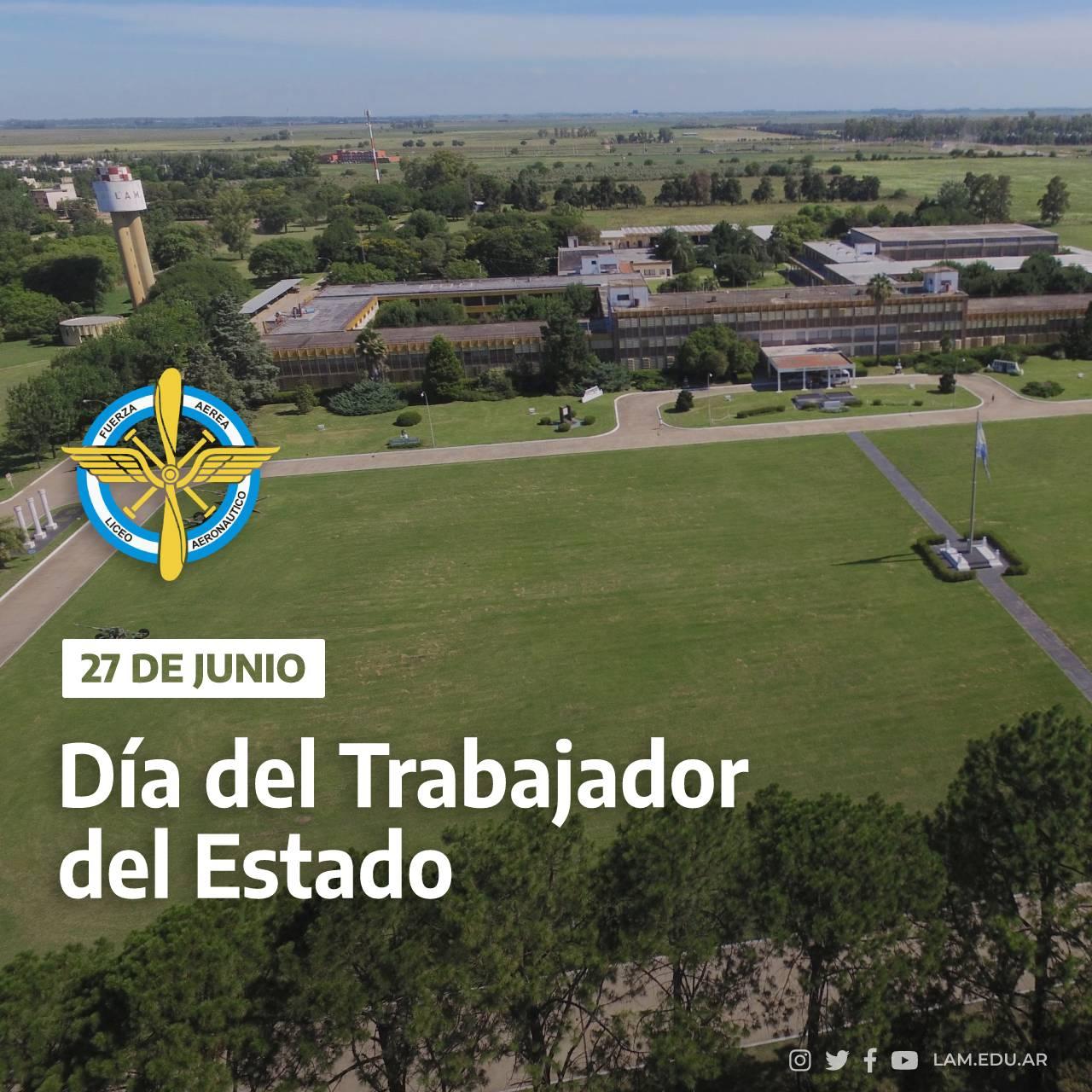 """27 DE JUNIO """"Día del Trabajador del Estado"""""""