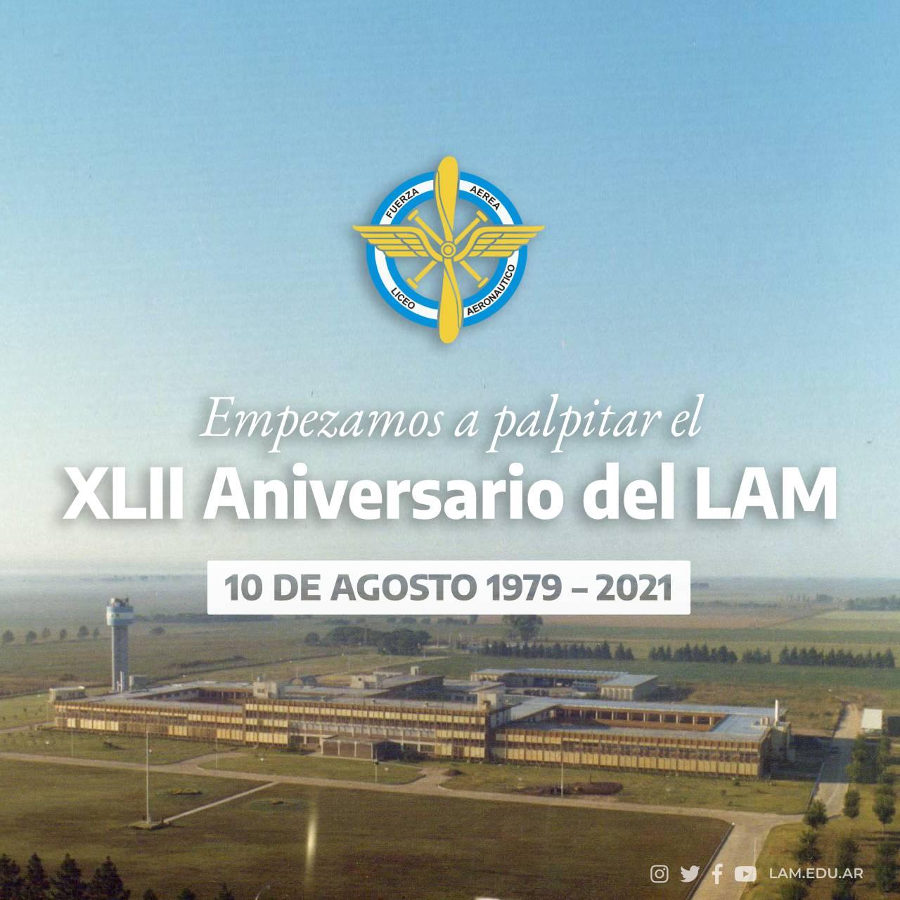 Empezamos a palpitar el XLII Aniversario del LAM