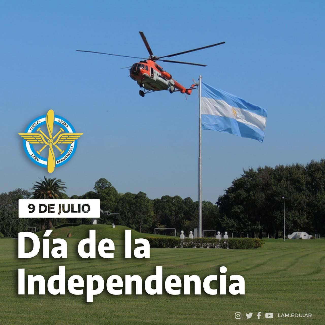 """9 DE JULIO """"Día de la Independencia"""""""